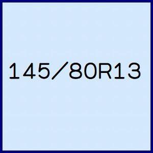 145/80R13