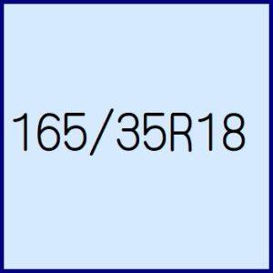 165/35R18