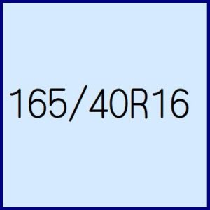 165/40R16