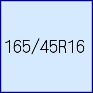 165/45R16