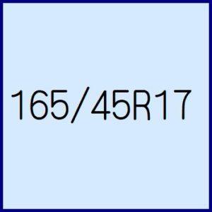 165/45R17