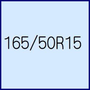 165/50R15