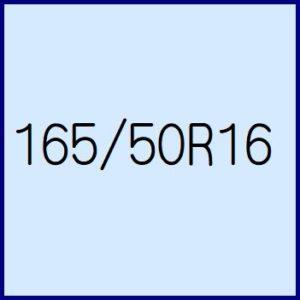165/50R16