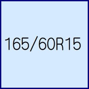 165/60R15