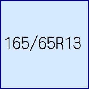 165/65R13