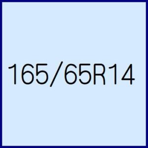 165/65R14