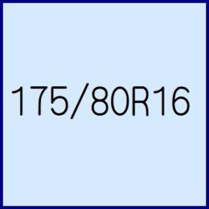 175/80R16
