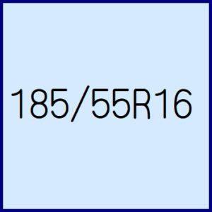 185/55R16