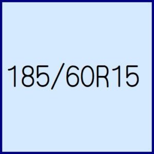 185/60R15