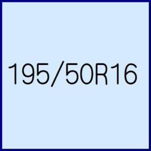 195/50R16