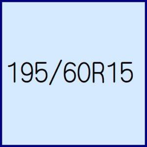 195/60R15