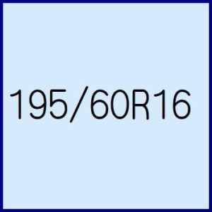 195/60R16