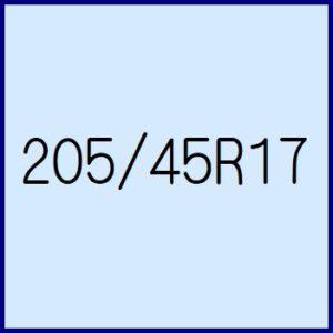 205/45R17