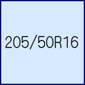 205/50R16