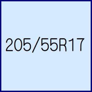 205/55R17