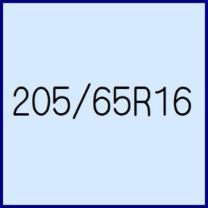 205/65R16