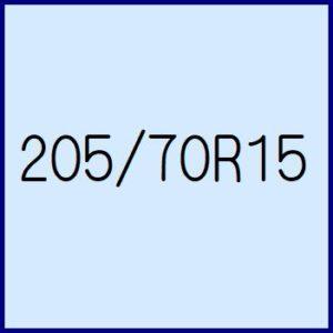 205/70R15