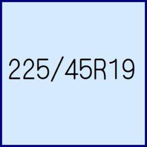 225/45R19