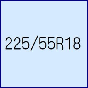225/55R18