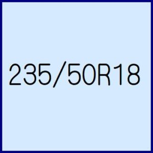 235/50R18