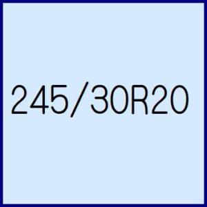 245/30R20
