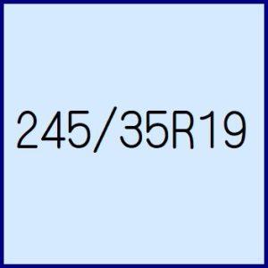 245/35R19