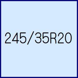 245/35R20