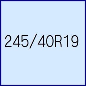 245/40R19