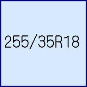 255/35R18
