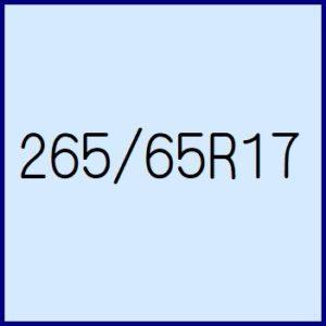 265/65R17