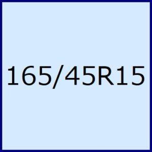 165/45R15