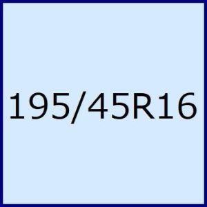 195/45R16