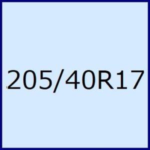 205/40R17